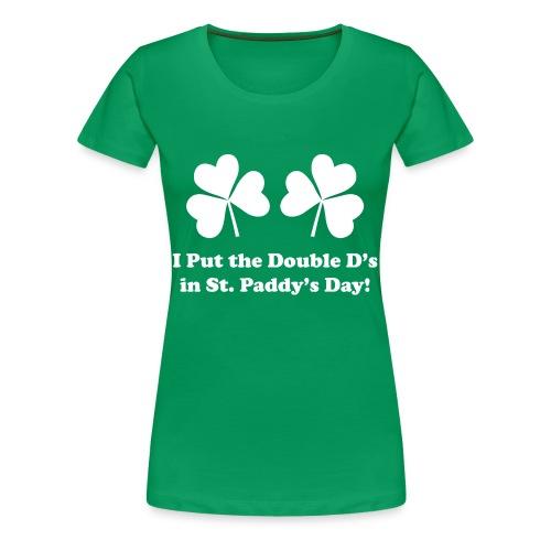 Ds Tee (Women's) - Women's Premium T-Shirt