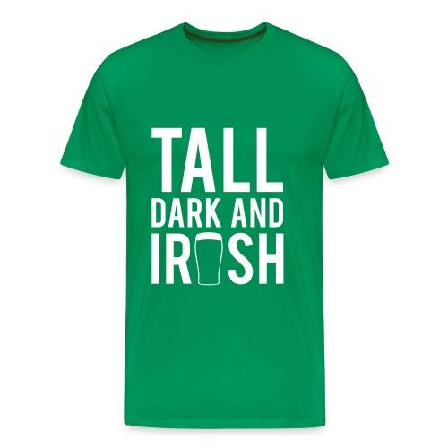 Tall Dark Tee (men's) - Men's Premium T-Shirt