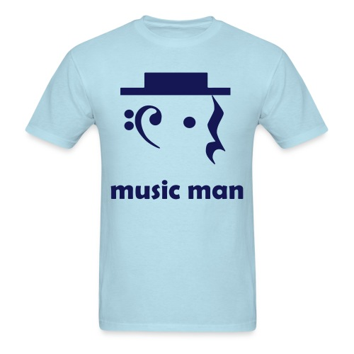 Men's Music Man T-Shirt - Men's T-Shirt
