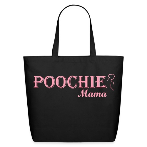 Poochie Mama Tote Bag by Poochie's Tees - Eco-Friendly Cotton Tote