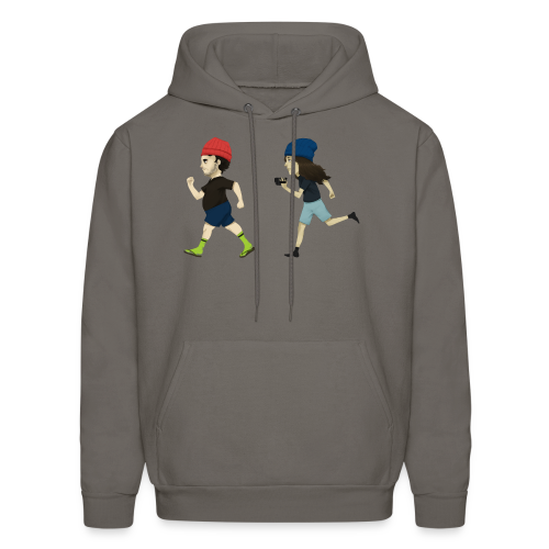 Hila and Ethan from h3h3productions - Men's Hoodie