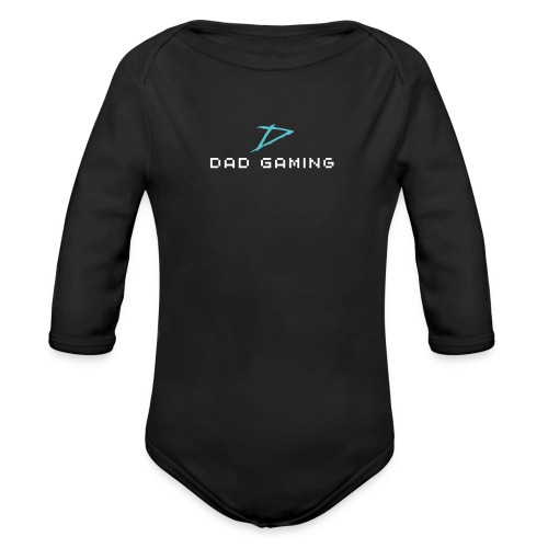 Dad Gaming Onsie - Organic Long Sleeve Baby Bodysuit