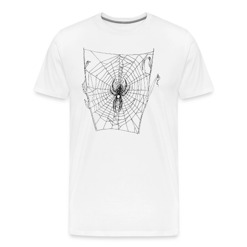 Spider web - Men's Premium T-Shirt