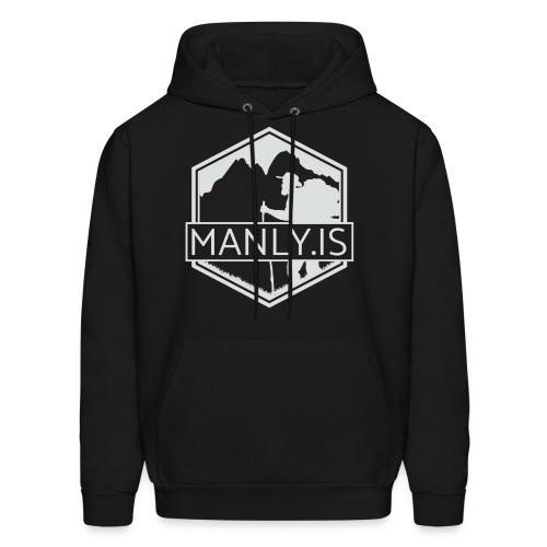 Manly Is Hoodie 2 - Men's Hoodie