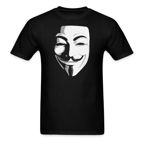 anonymous for black - Men's T-Shirt