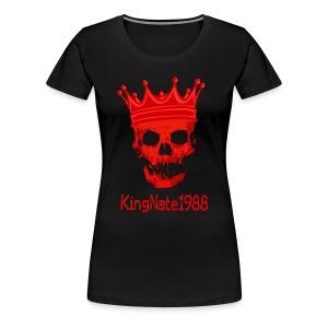 KingNate1988 Women's Premium Logo Shirt  - Women's Premium T-Shirt