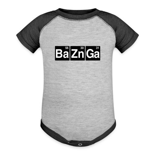 Ba Zn Ga - Contrast Baby Bodysuit
