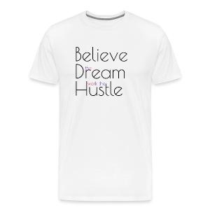 Work the hustle - Men's Premium T-Shirt