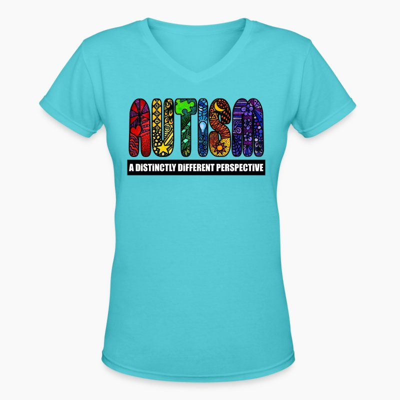 Best autism design t shirt spreadshirt for V neck t shirts with designs