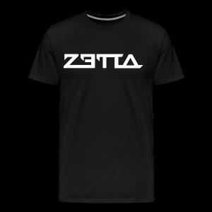 Zetta - White Design - Men's Premium T-Shirt