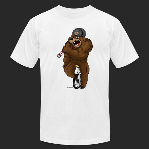 Russian Bear - Men's  Jersey T-Shirt
