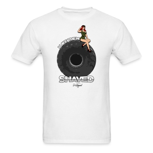 I Like Them Shaved - Men's T-Shirt