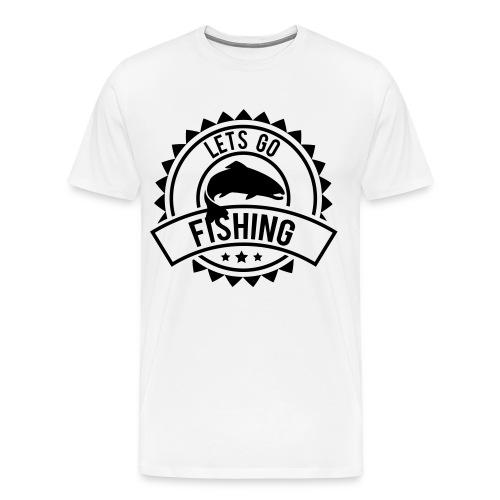 Lets Go Fishing - Men's Premium T-Shirt