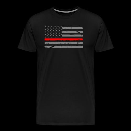 red line - Men's Premium T-Shirt