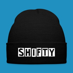 Shifty Beanie - Knit Cap with Cuff Print