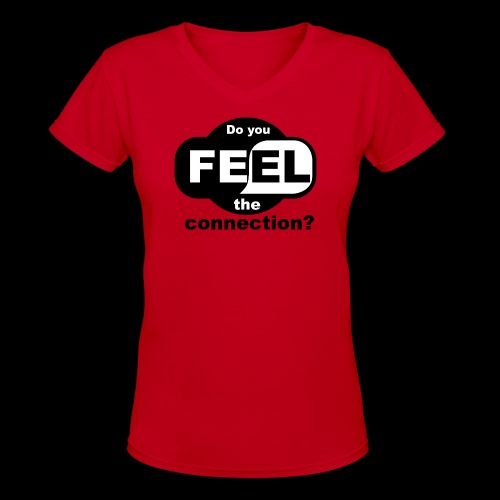 wifi connection - Women's V-Neck T-Shirt