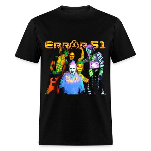 Error 51Original Group Black T-Shirt - Men's T-Shirt