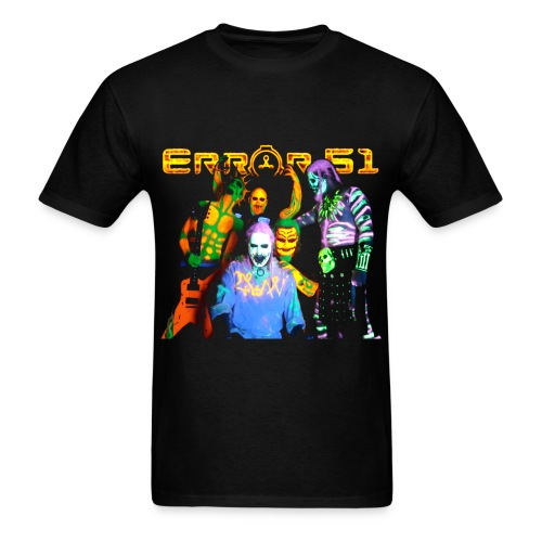 Error 51Original Group Black T-Shirt - Men's T-Shirt
