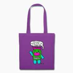 Motivational Monster I think big, Wishllywood ™ Bags & backpacks