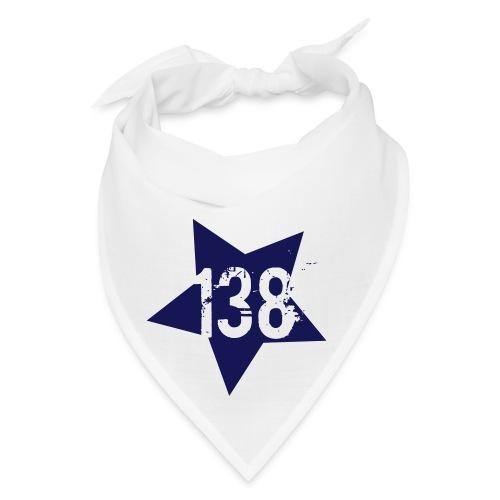 AR138 STAR BANDANA - WHITE&BLUE - Bandana