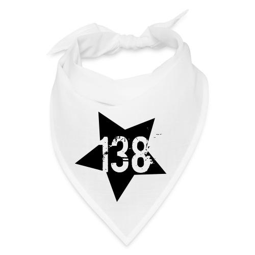 AR138 STAR BANDANA - WHITE&BLACK - Bandana