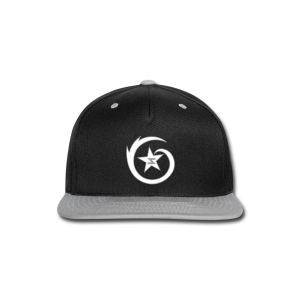 SWIRL Logo Snapback Black/Gray/White - Snap-back Baseball Cap