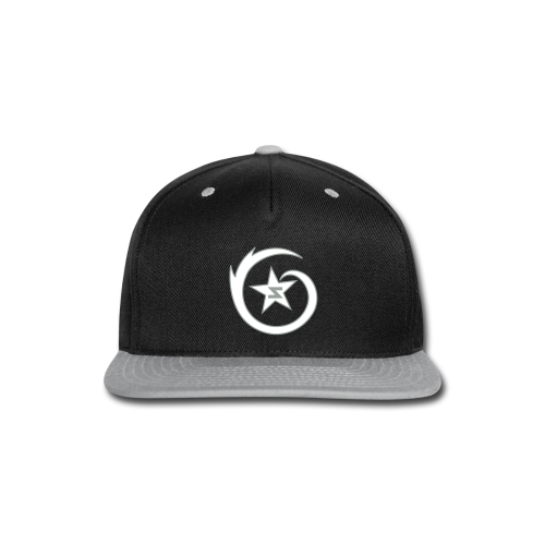 SWIRL Logo Snapback Black/Gray/White - Snap-back Baseball Cap