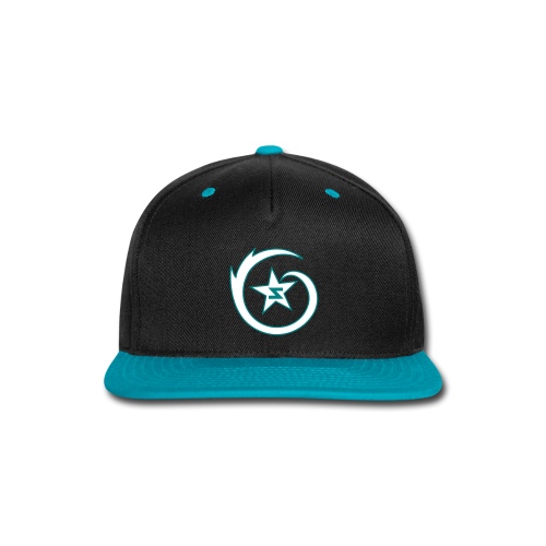 SWIRL Logo Snapback Black/Teal/White - Snap-back Baseball Cap