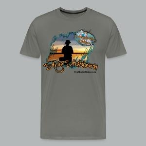Stay Stubborn (premium) (front only) - Men's Premium T-Shirt