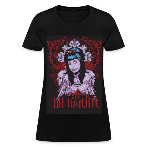 Hot Zombie Pinup Girl Tee - Women's T-Shirt