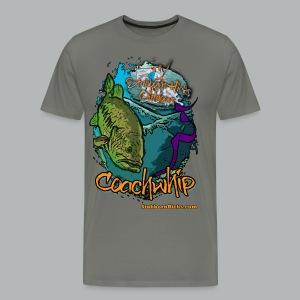 Coachwhip (premium) (front only) - Men's Premium T-Shirt
