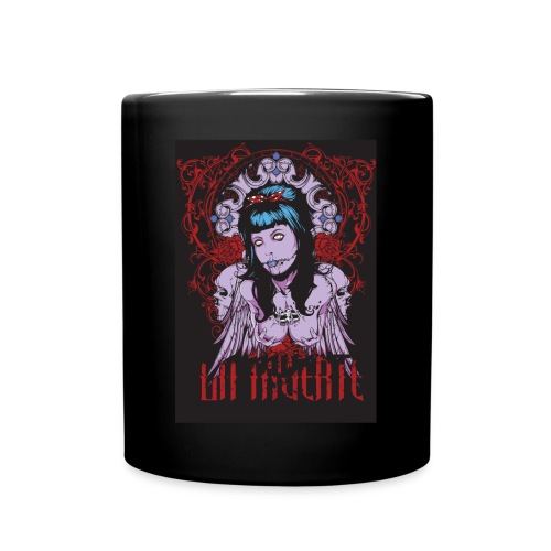 Hot Zombie Pinup Girl Mug - Full Color Mug