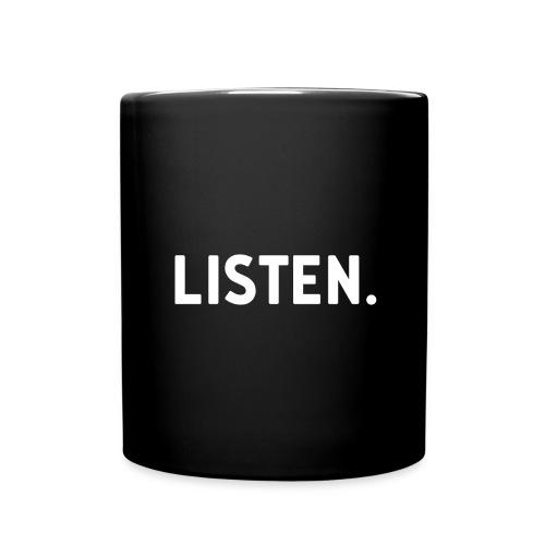 Listen. Coffee Mug - Full Color Mug