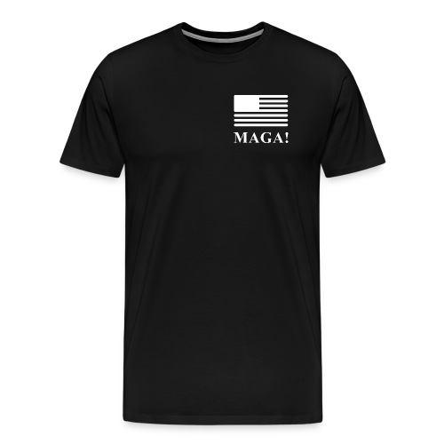MAGA! Pocket Square T-Shirt - Men's Premium T-Shirt