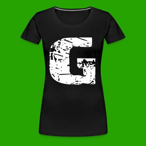 PLAYERA PREMIUM 'G' LOGO PARA MUJERES - Women's Premium T-Shirt