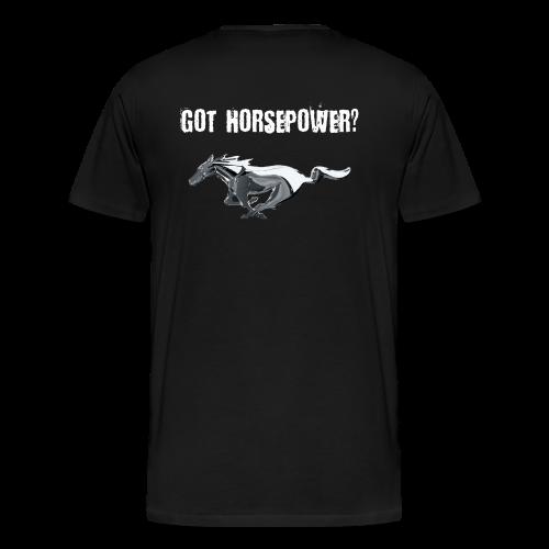 Got Horsepower? - Men's Premium T-Shirt