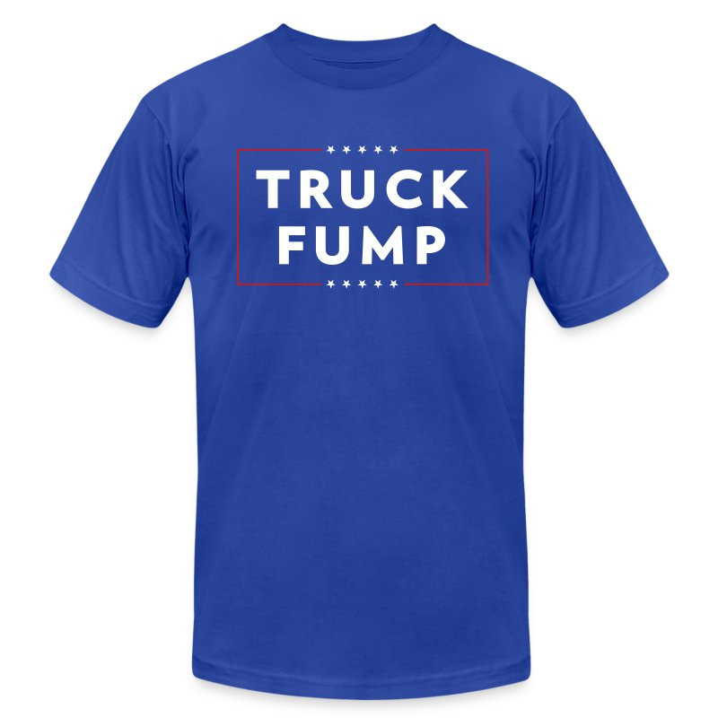 TruckFump - Men's T-Shirt by American Apparel