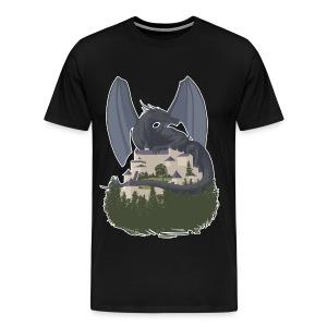 The Iron Dragon Shirt - Men's Premium T-Shirt