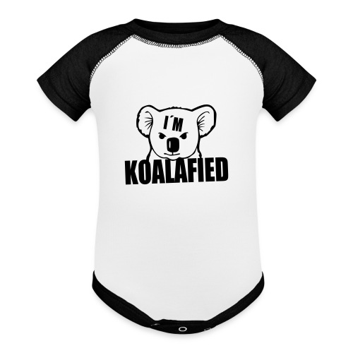 Koala 4 - Contrast Baby Bodysuit