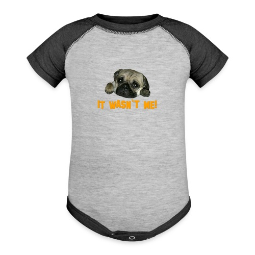 Pug 3 - Baby Contrast One Piece