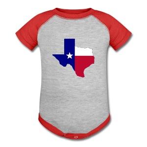Texas - Baby Contrast One Piece