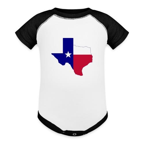 Texas - Contrast Baby Bodysuit