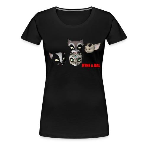 Women's Heads T-Shirt - Women's Premium T-Shirt
