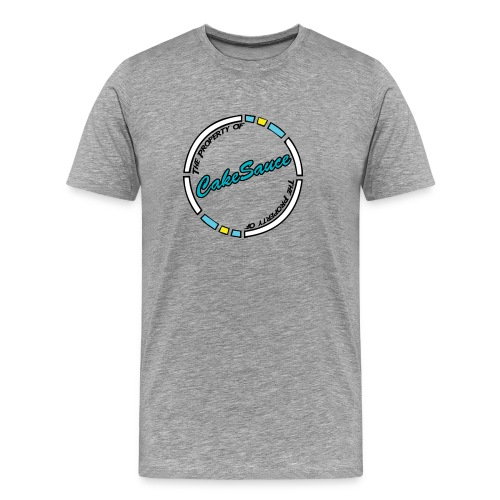 CakeSauce T-Shirt T-Shirts - Men's Premium T-Shirt