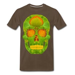 Aspen Leaf Skull 10 - Men's Premium T-Shirt