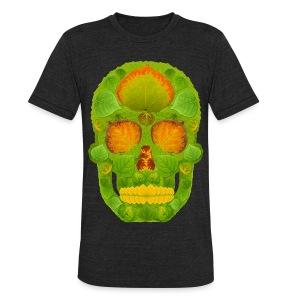 Aspen Leaf Skull 10 - Unisex Tri-Blend T-Shirt