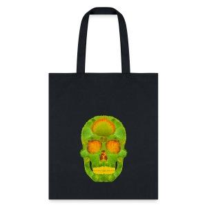 Aspen Leaf Skull 10 - Tote Bag