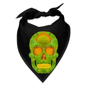 Aspen Leaf Skull 10 - Bandana