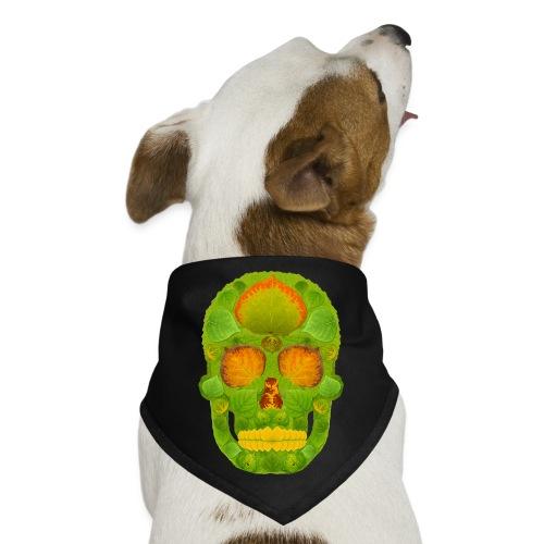 Aspen Leaf Skull 10 - Dog Bandana