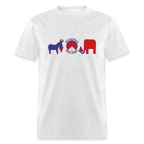 Bipartisan Pizza Party - Men's T-Shirt